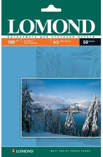 Матовая фотобумага LOMOND формата А5