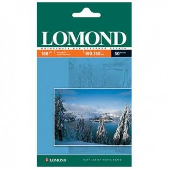 Матовая фотобумага LOMOND формата А6