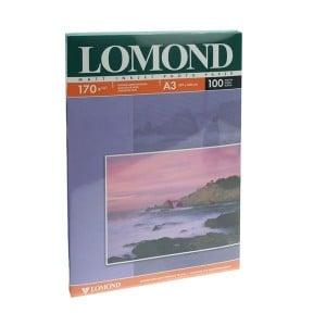 Матовая фотобумага LOMOND формата А3