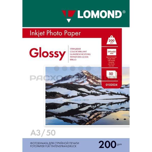 Глянцевая фотобумага LOMOND формата А3